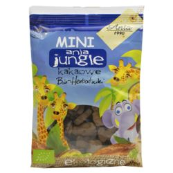 HERBATNIKI MINI JUNGLE KAKAOWE 100G BIO ANIA