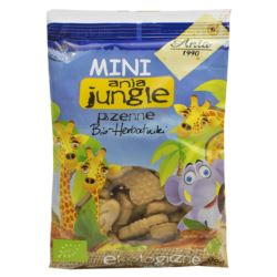 HERBATNIKI MINI JUNGLE 100G BIO ANIA