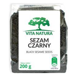 SEZAM CZARNY 200G VITA NATURA