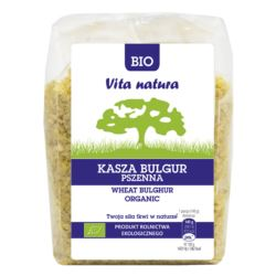KASZA BULGUR BIO 400G VITA NATURA