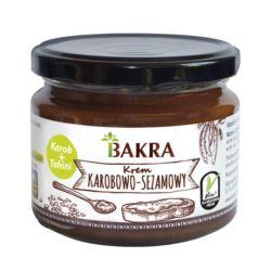 KREM KAROBOWO-SEZAMOWY 300G BAKRA