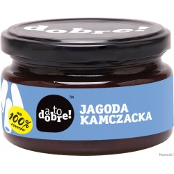 KONFITURA JAGODA KAMCZACKA Z DODATKIEM CUKRU 295G A TO DOBRE
